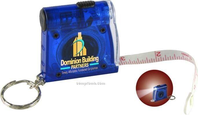 Translucent Flashlight Tape Measure