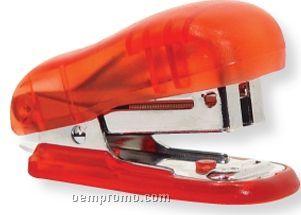 Translucent Red Mini Stapler (Printed)