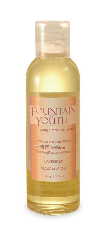3.5 Oz. Scented Massage Oil - Lavender