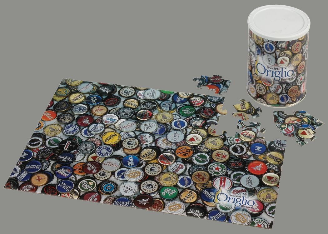 75-piece Puzzle In Can