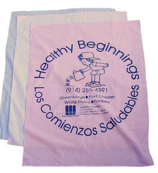 Cotton Receiving Blankets - Blank