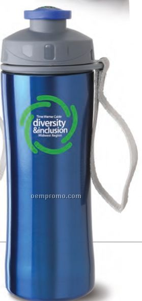 Hydration Stainless Steel Compass Sports Bottle
