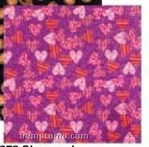 Plaid And Polka Dot Hearts Stock Design Bandanna (Unimprinted)