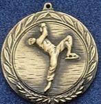 """1.5"""" Stock Cast Medallion (Figure Skate/ Male)"""