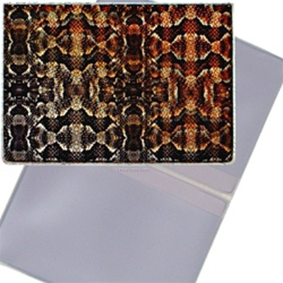 3d Lenticular Business Card Holder (Snake Skin)