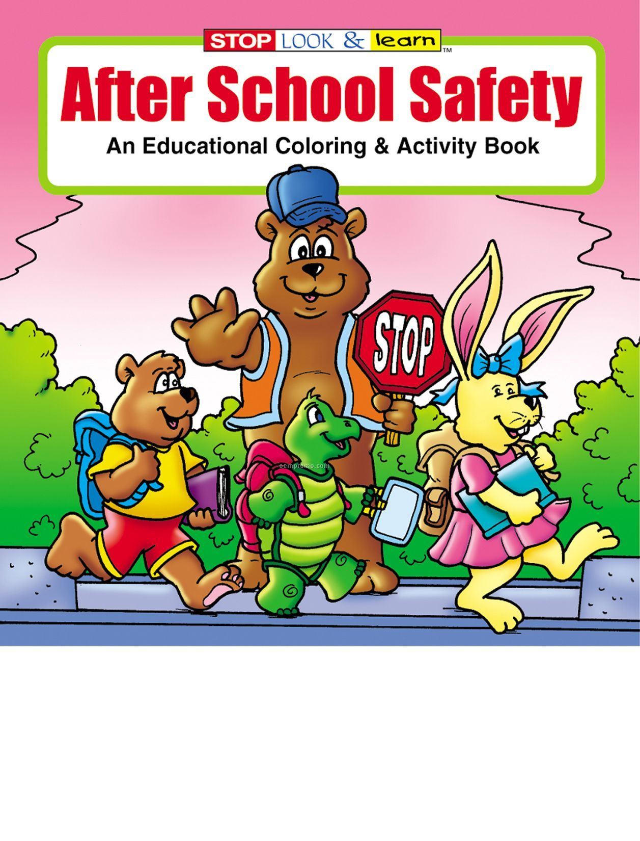 After School Safety Coloring Book Fun Pack