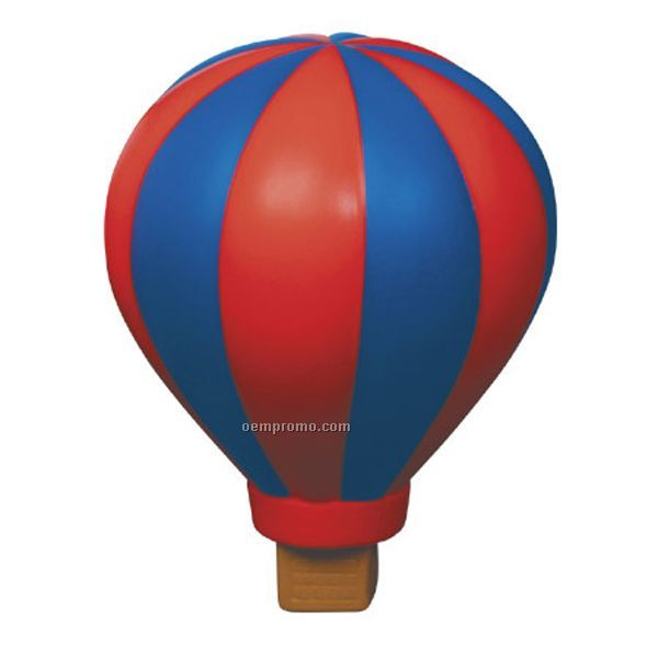 Hot Air Balloon Squeeze Toy