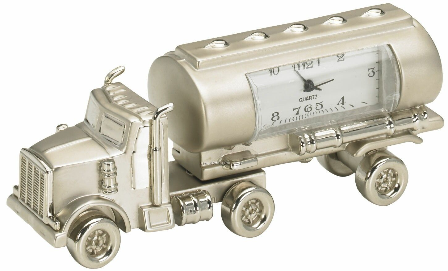 Metal Tanker Clock