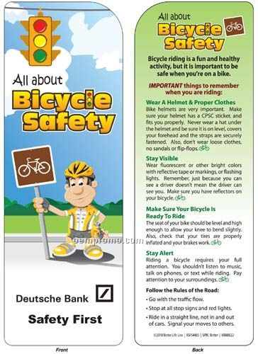 Bookmark - All About Bicycle Safety