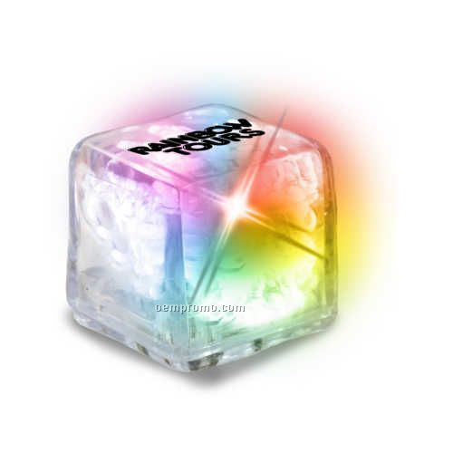 Clear With Color Changing Leds Ultra Glow Ice Cube
