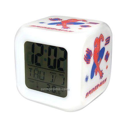 Colorful Cartoon Clock