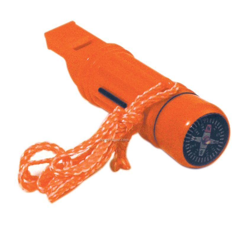 Orange Survival Tube