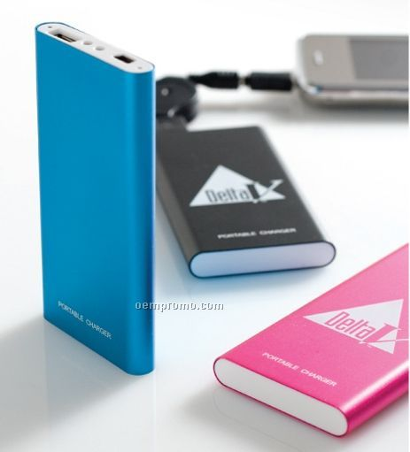 """Portable Battery Charge (4""""X2""""X3/8"""")"""