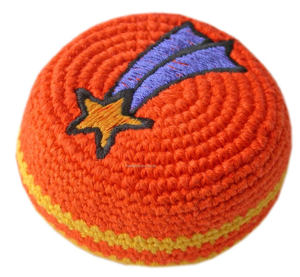 Guatemalan Embroidered-crocheted Footbag
