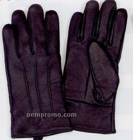 Men's Leather Glove With Thinsulate Lining