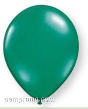 "11"" Emerald Green Latex Single Color Balloon"