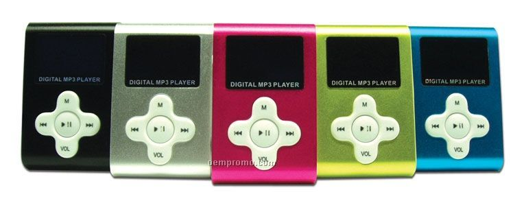 3-in-1 Mp3 Player W/ Lcd Screen (4 Gb)