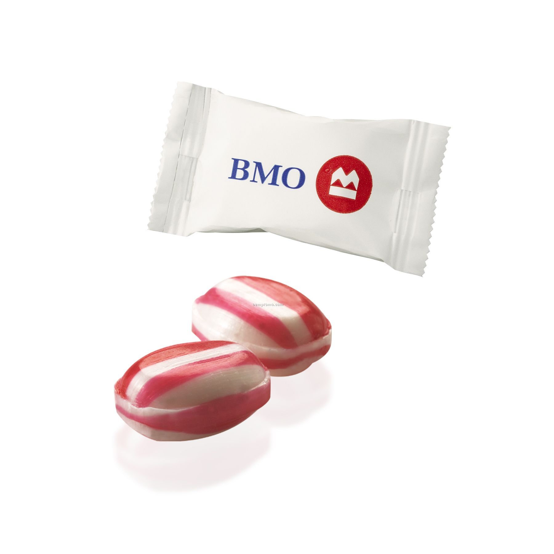 Individually Wrapped Red Striped Peppermint Megamints