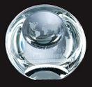 Optical Crystal Globe Dome Paperweight Award