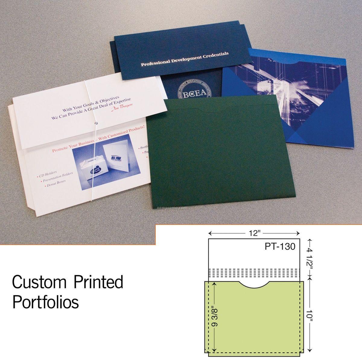 """Portfolio W/ 1"""" Expansion (1 Color/1 Side)"""