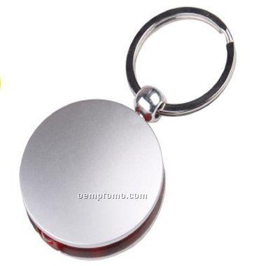 Round LED Light/Keychain (Screen)