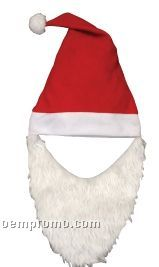 Felt Santa Hat With Beard