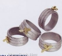 Honey Bee Napkin Rings