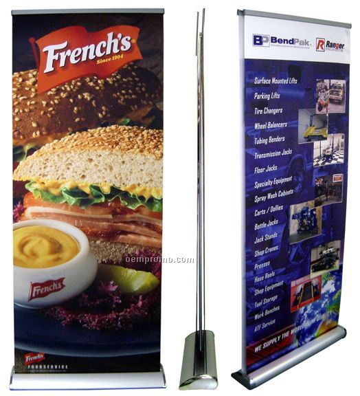 Banner Stand - Ld2 Premium Double Sided