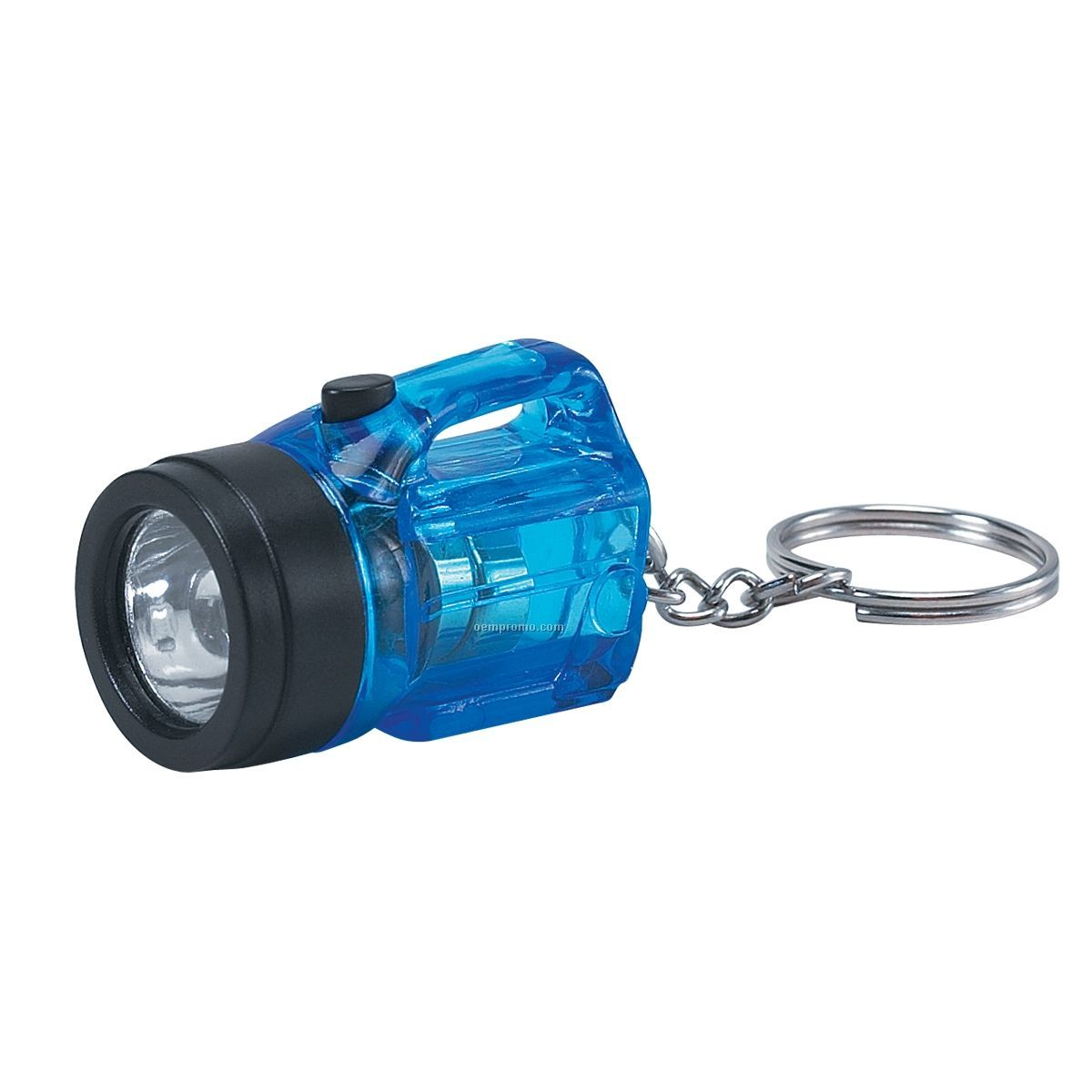 Blue Mini Light Up Lantern Keychain