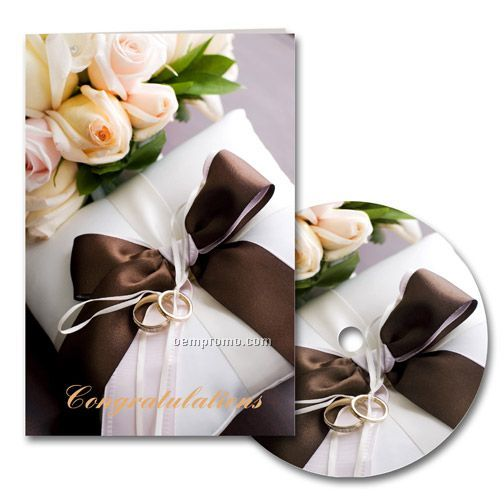 Congratulations Wedding Card With Matching CD