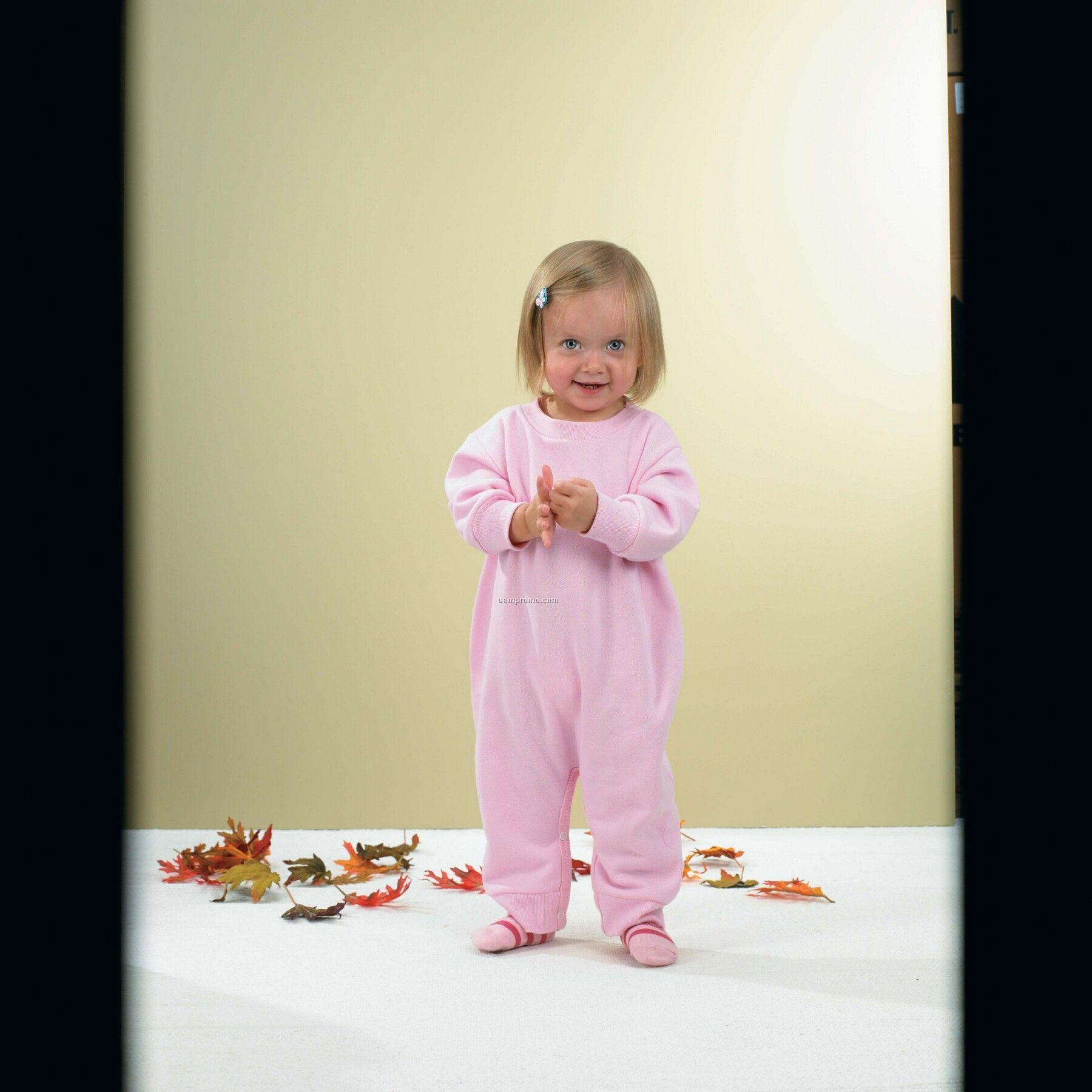 Infant Fleece Bubble Romper