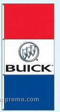Stock Double Face Dealer Rotator Drape Flags - Buick