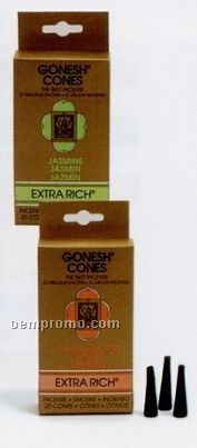 Gonesh Extra Rich Incense Cones Strawberry
