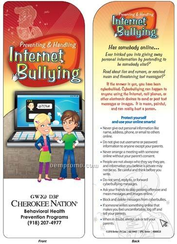 Bookmark - Preventing & Handling Internet Bullying