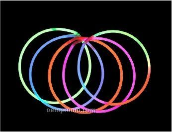 """Glow Necklace With Connector - 22"""""""