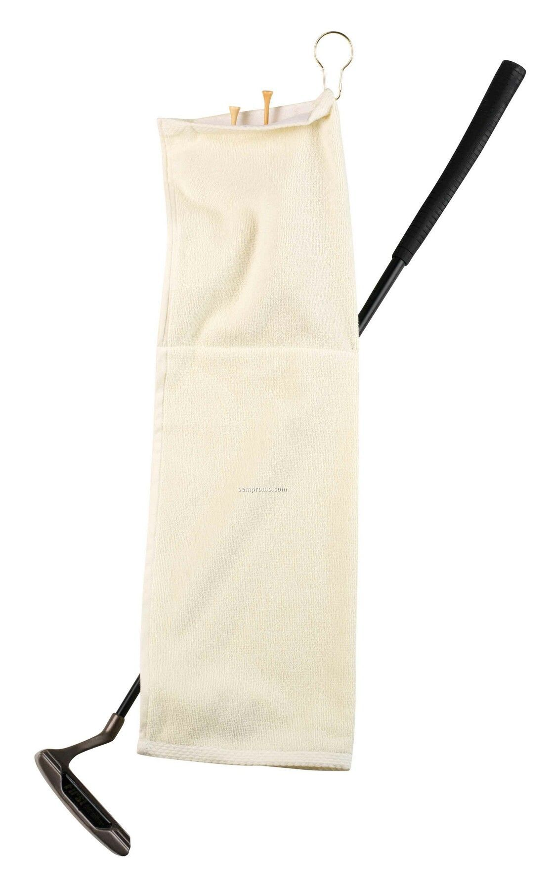 The Turnberry Pouch Golf Towel With Hook & Grommet