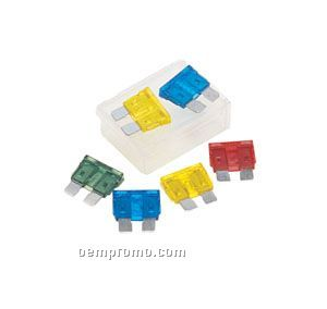 Assorted Plug-in Fuses (Blank Only)