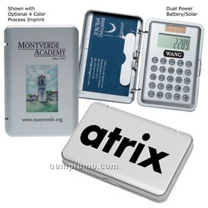 Business card holder solar calculator 4 color processchina business card holder solar calculator 4 color process reheart Images