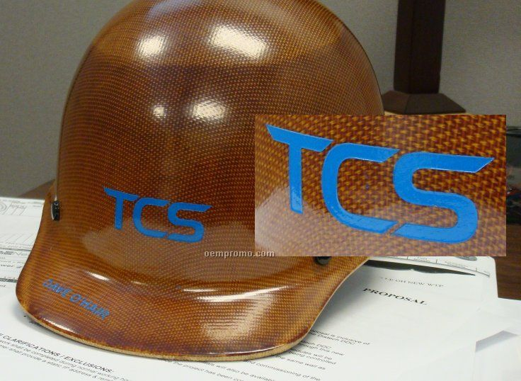 Custom Etched Hardhat