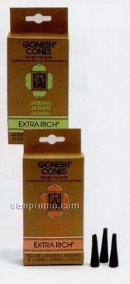 Gonesh Extra Rich Incense Cones Vanilla