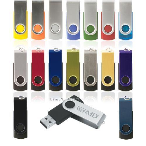 Parma Swivel USB Flash Drive (128 Mb)