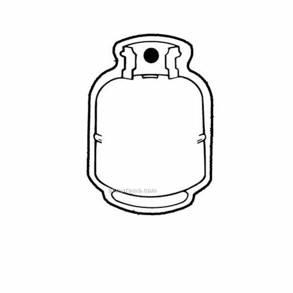 Stock Shape Collection Propane Tank 1 Key Tag