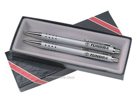 Junior Ballpoint Pen & Mechanical Pencil Set