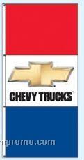 Stock Double Face Dealer Rotator Drape Flags - Chevy Trucks