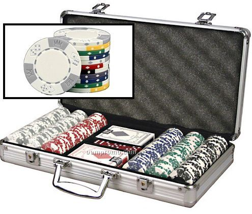 Triple Crown ABS Composite 11.5 Gram Poker Chip Set With Cards
