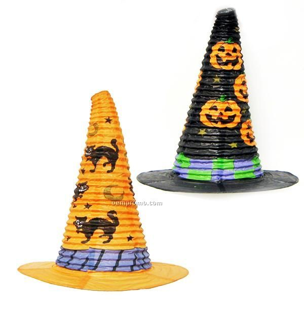 Witch Hat- Paper Lantern