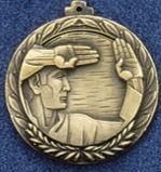 "2.5"" Stock Cast Medallion (Karate General)"