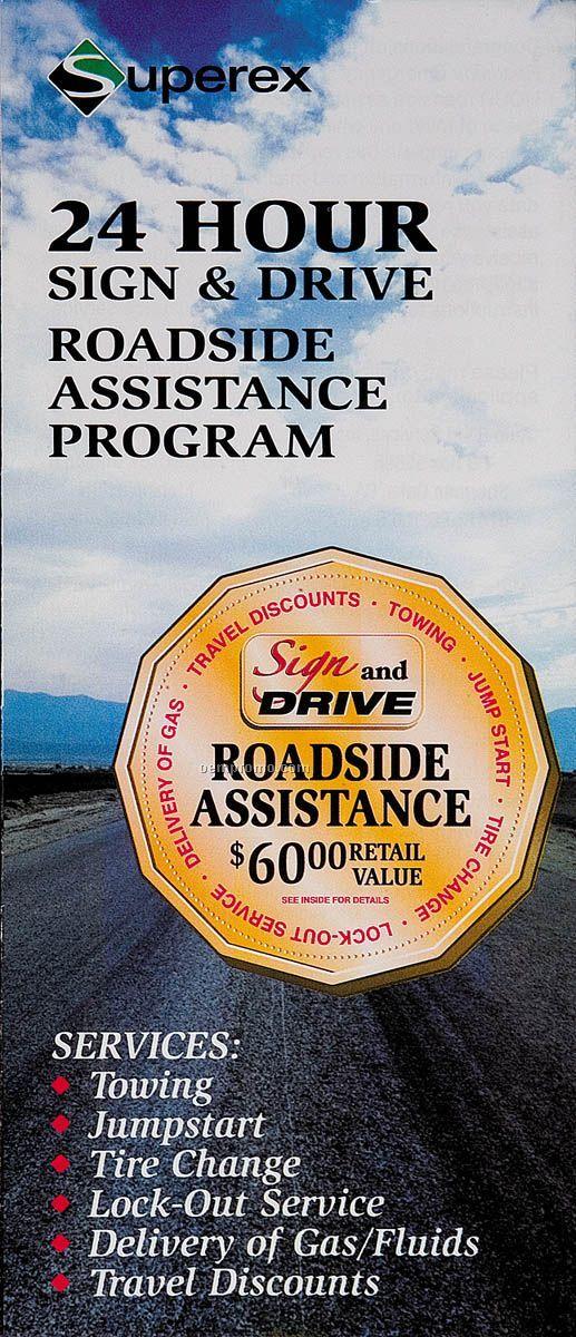 24 Hour Emergency Roadside & Travel Assistance (Blank Only)