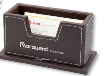 Leatherette Card Holder