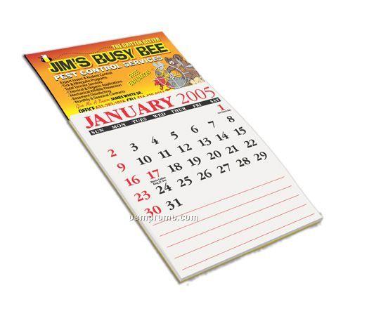 L Stick 1 Year Calendar Business Card Magnet 2 Day Service